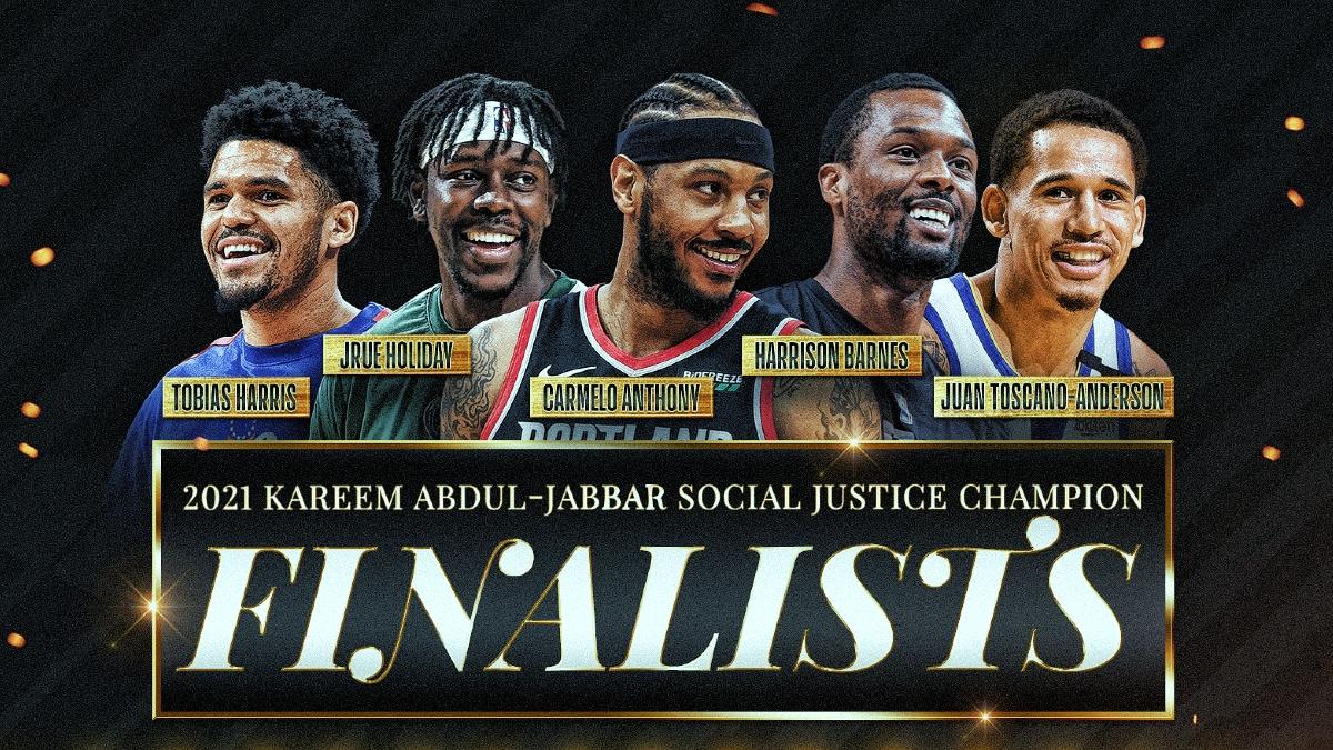 Finalists announced for the inaugural Kareem Abdul-Jabbar Social Justice Champion Award