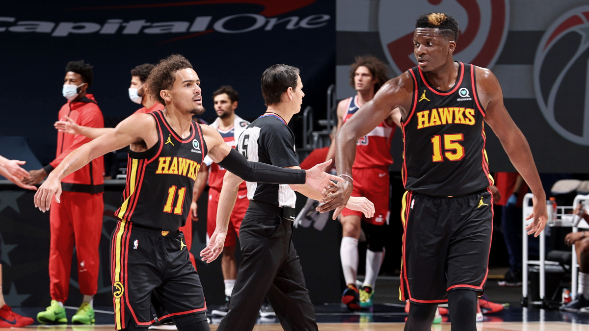 Hawks dealing with injuries to Trae Young, Clint Capela in East final