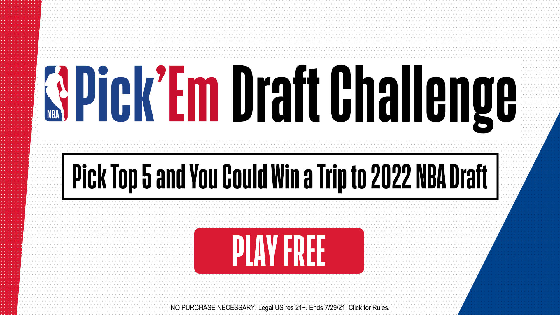 Play NBA Pick'Em: Draft Challenge