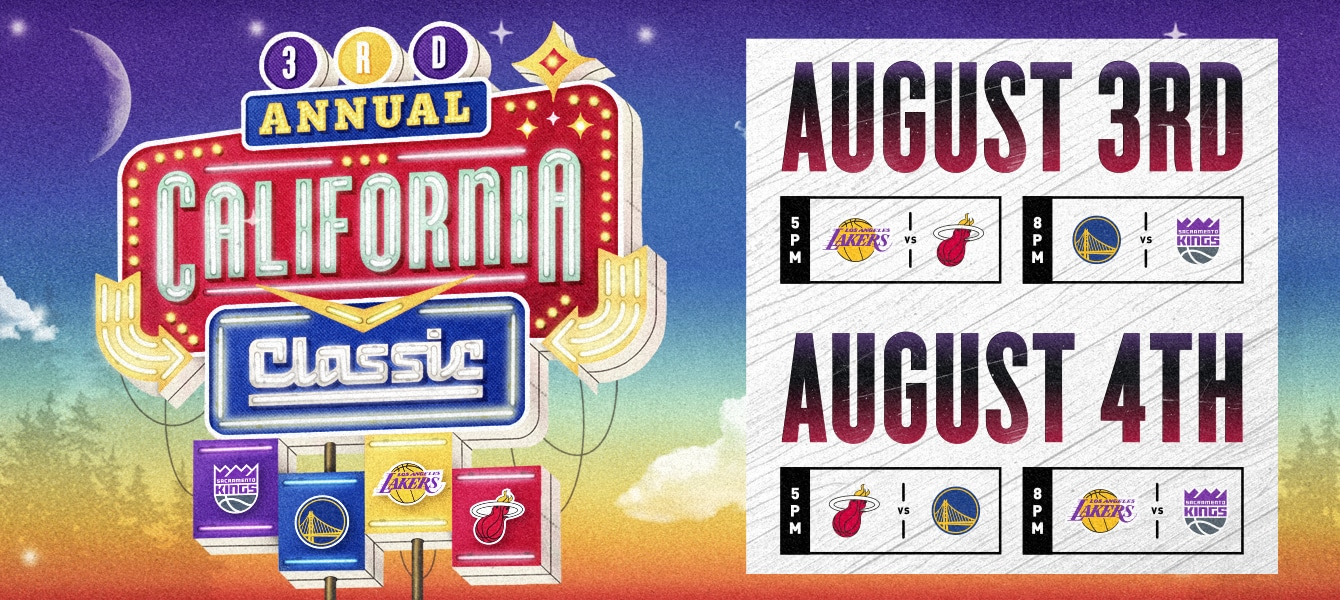 California Classic Summer League plays Aug. 3-4