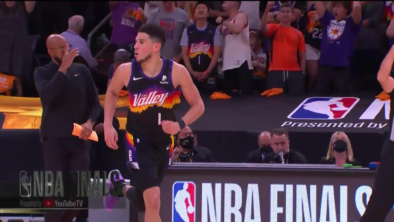 What a shot by Devin Booker