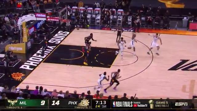 Chris Paul hits the floater