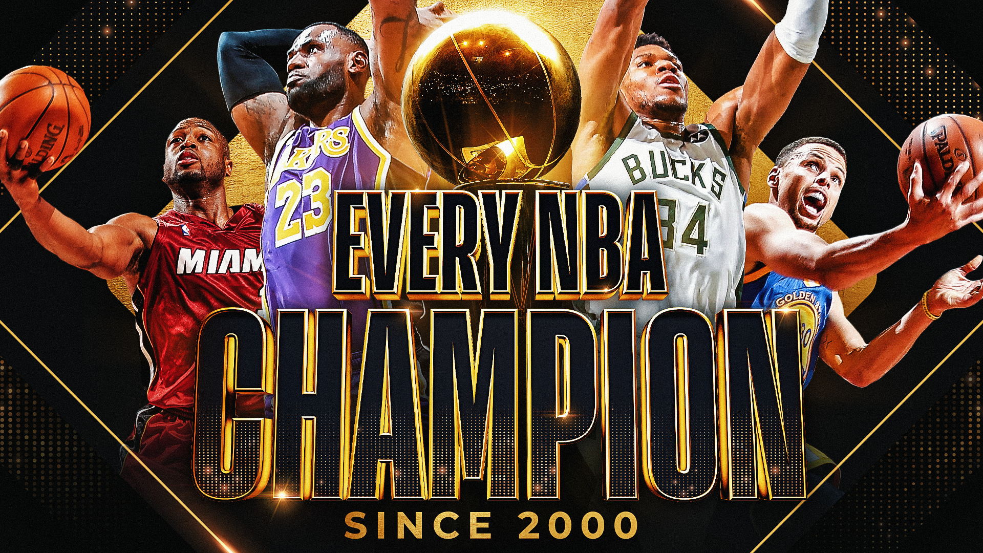 Looking back at every NBA champion since 2000
