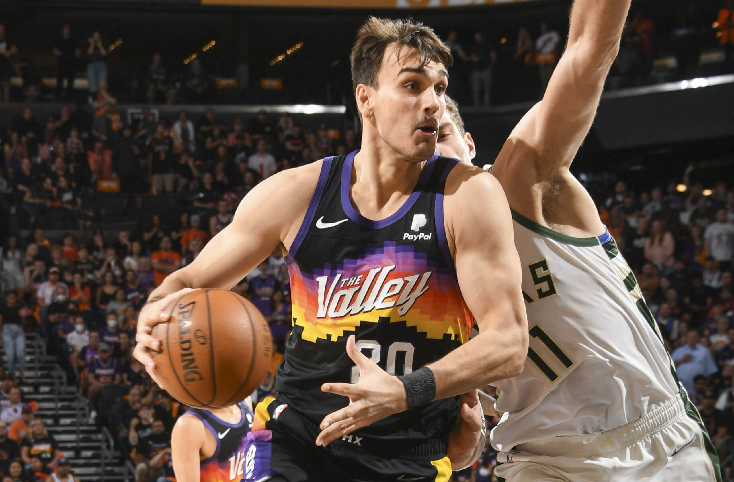 Suns forward Dario Saric out indefinitely with torn ACL