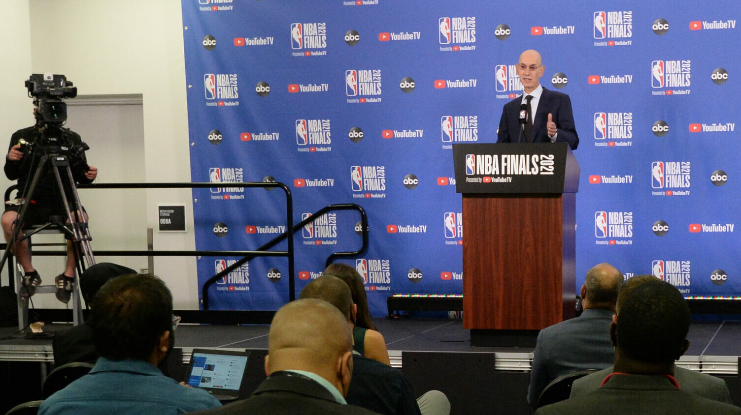 NBA Commissioner Adam Silver discusses state of the league as The Finals open