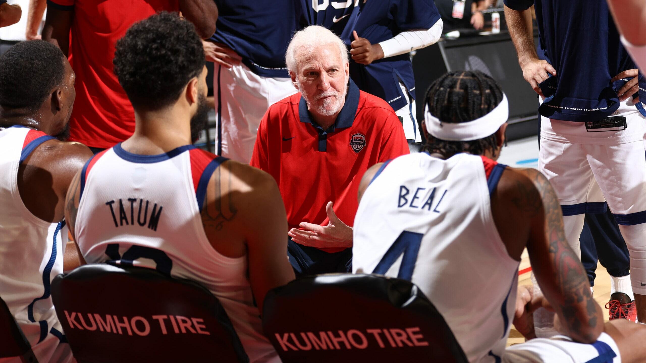 USA Basketball men's national team July 16 exhibition game vs. Australia canceled