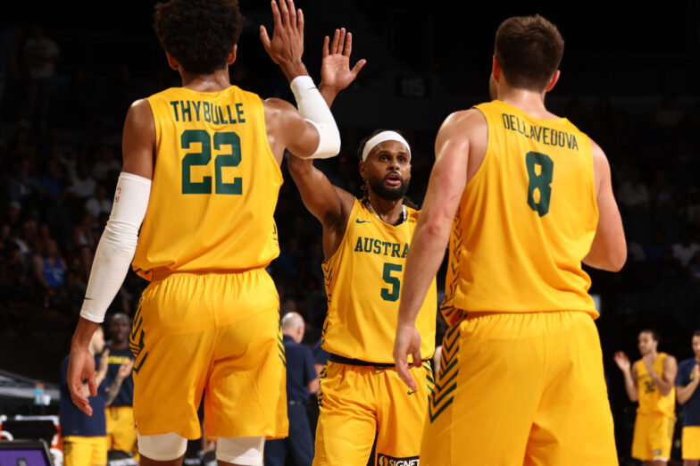 Australia tops Team USA in second exhibition game