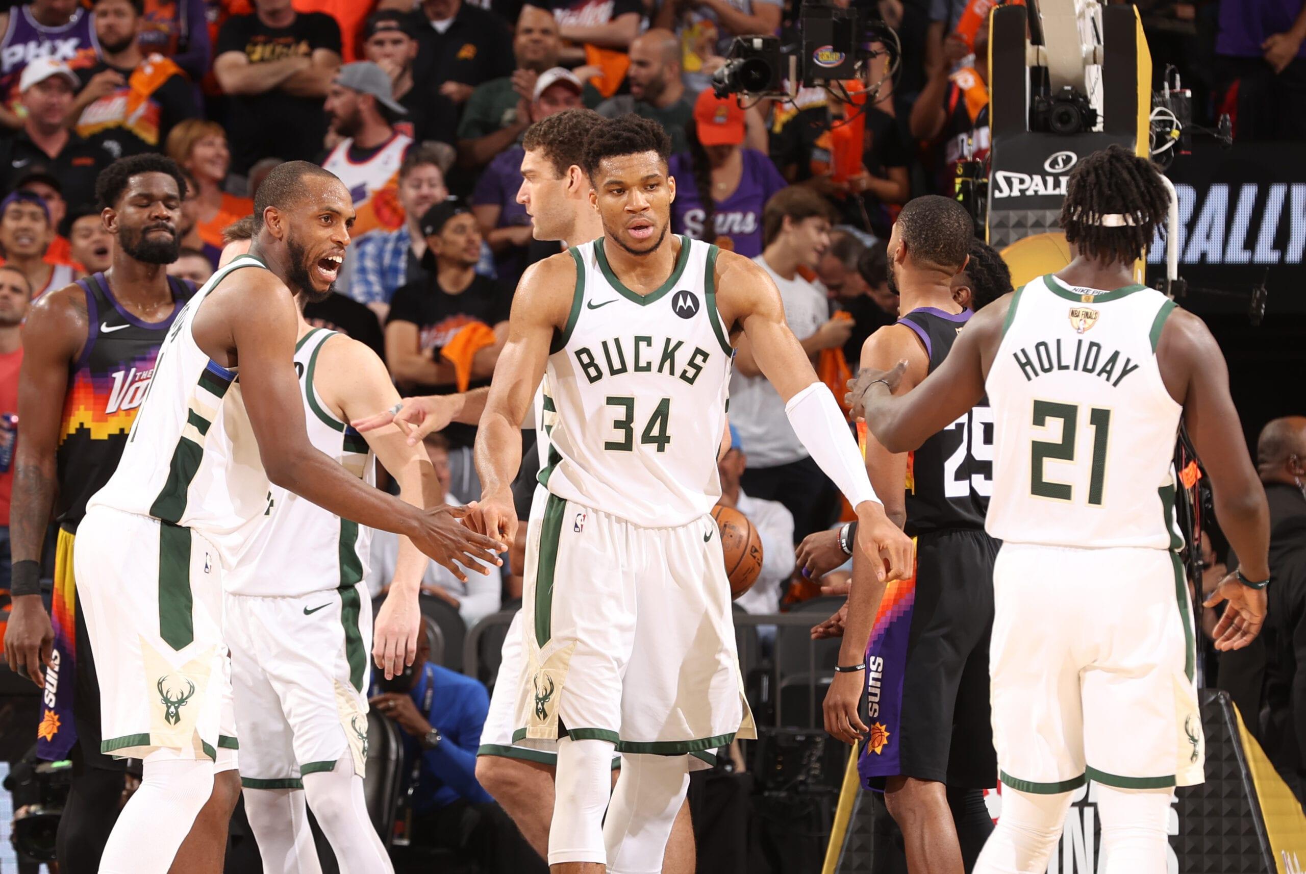 Finals MVP Ladder: Bucks' big three swings series