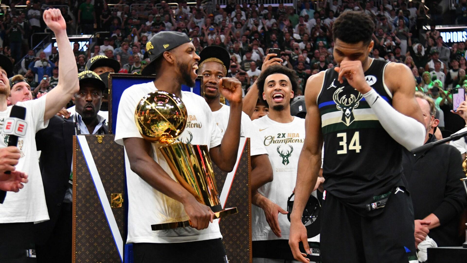 NBA Twitter reacts to Giannis Antetokounmpo, Bucks winning NBA title