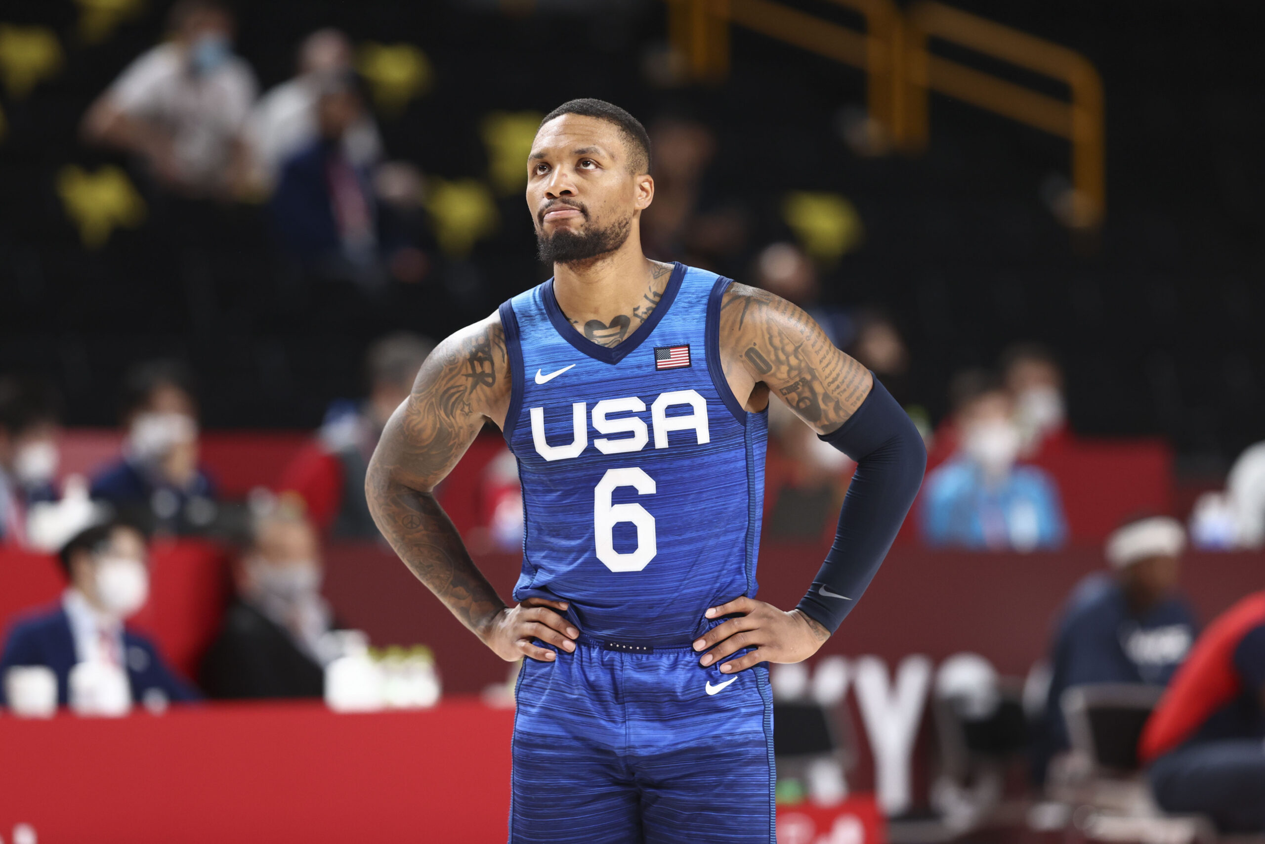 Damian Lillard, Bam Adebayo try to help US recover after fall to France