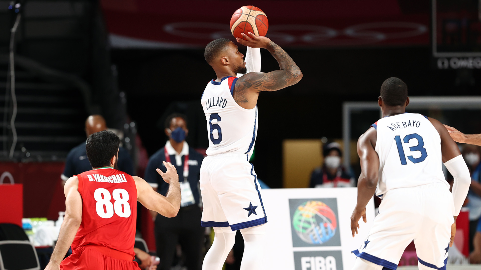 Team USA cruises past Iran for first win at Tokyo Olympics
