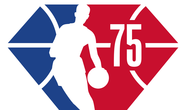 NBA unveils 75th anniversary season logo
