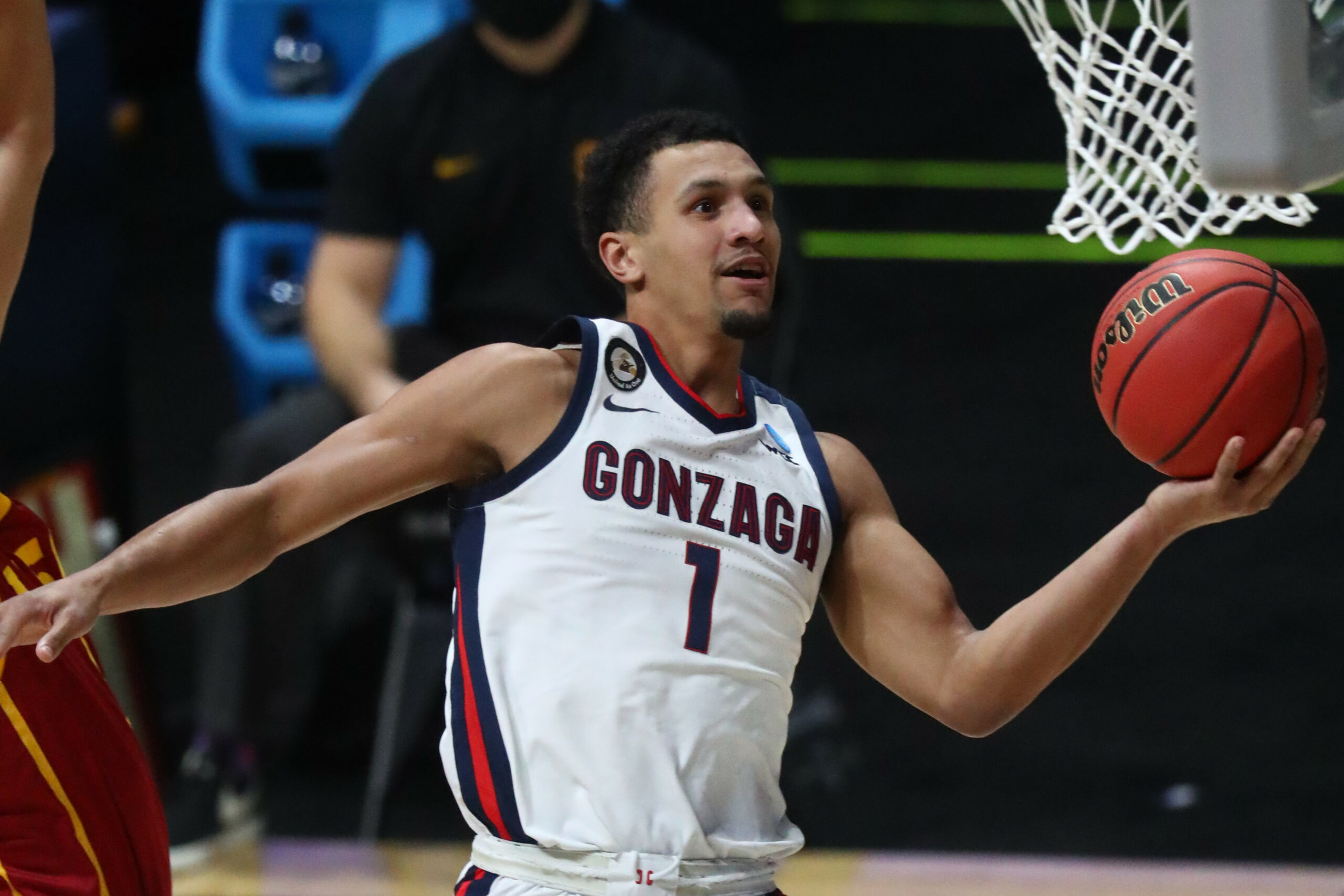 Choosing basketball over football was tough for Jalen Suggs