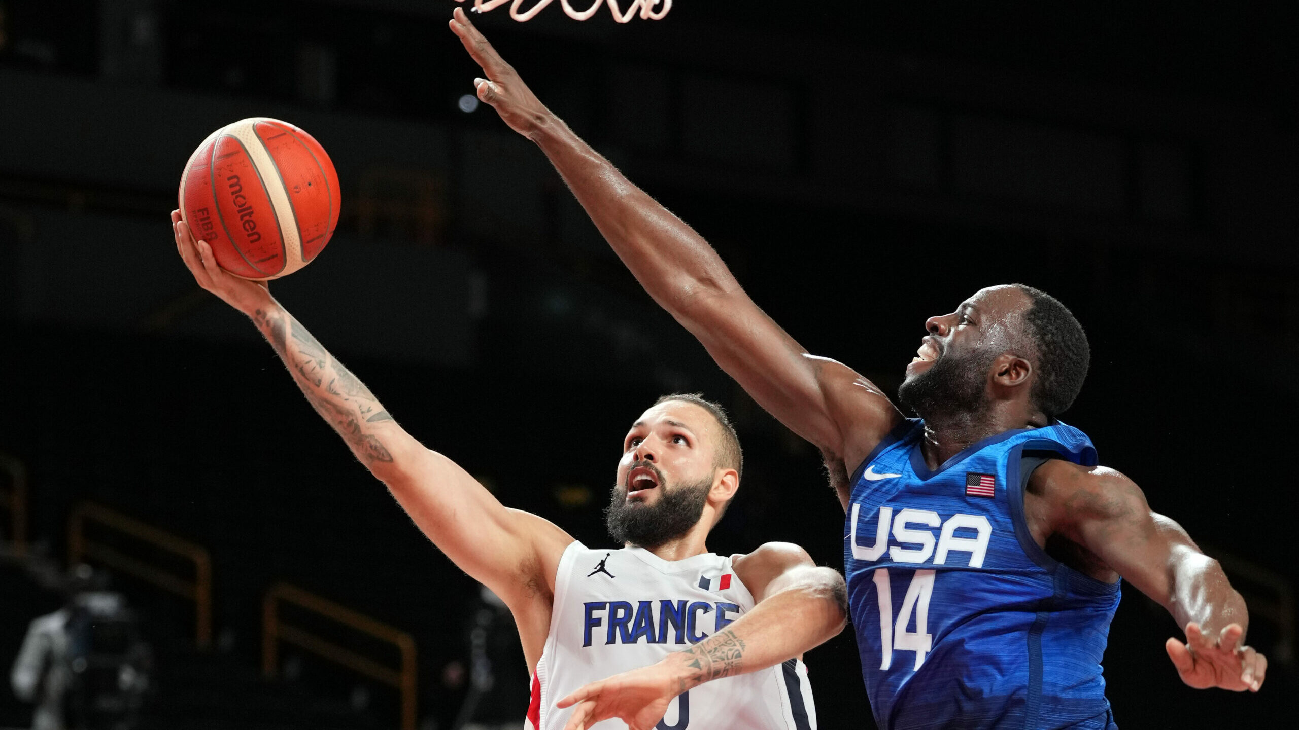 France rallies to hand USA first Olympics loss since 2004