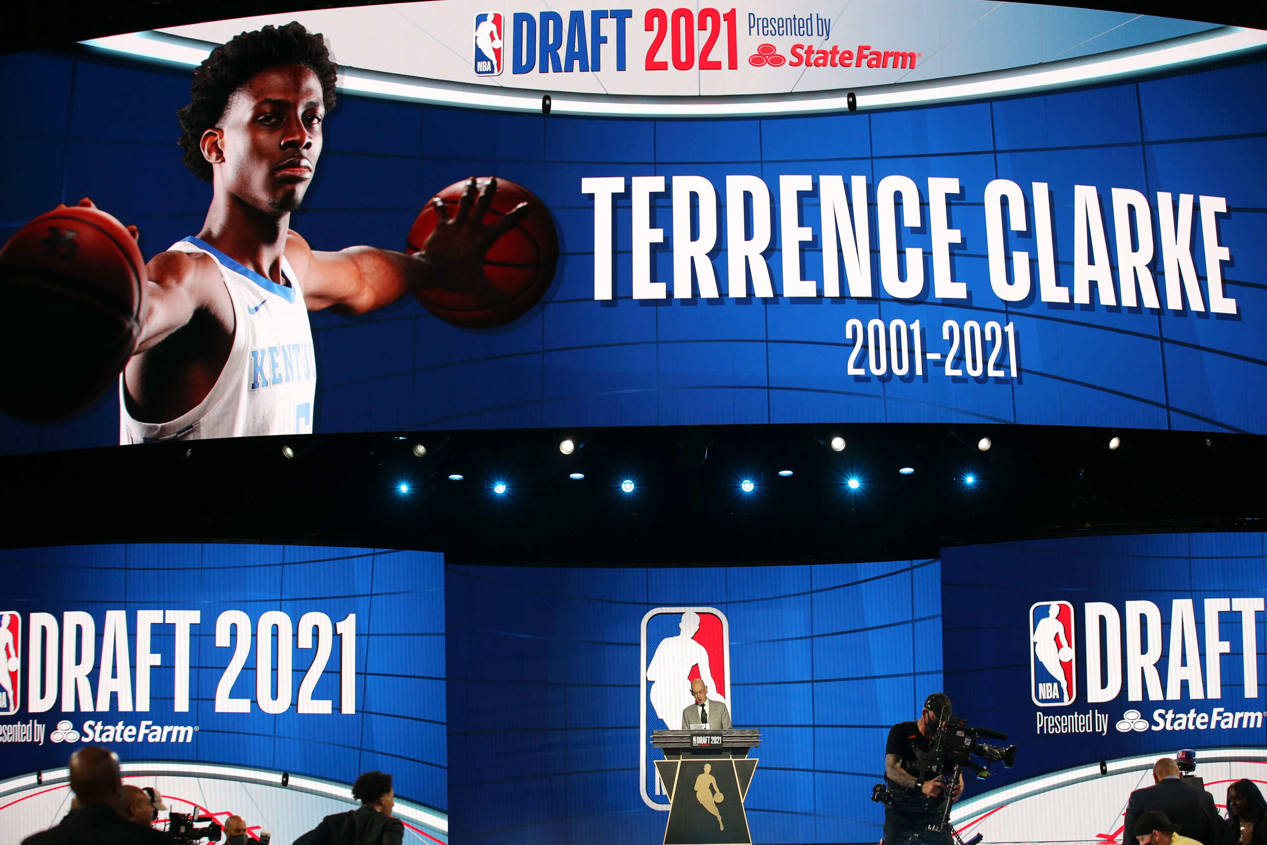 NBA Draft Honors Terrence Clarke, 19-Year-Old Kentucky Guard Who Died in Car Accident in April