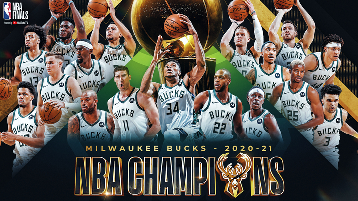 Giannis saves best for last, leads Bucks to first NBA title in 50 years