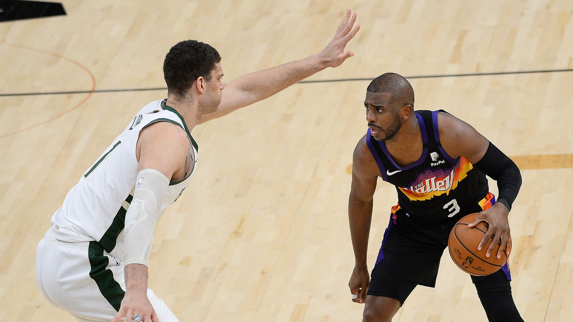 Finals Film Study: Suns go at Brook Lopez early and often in Game 1