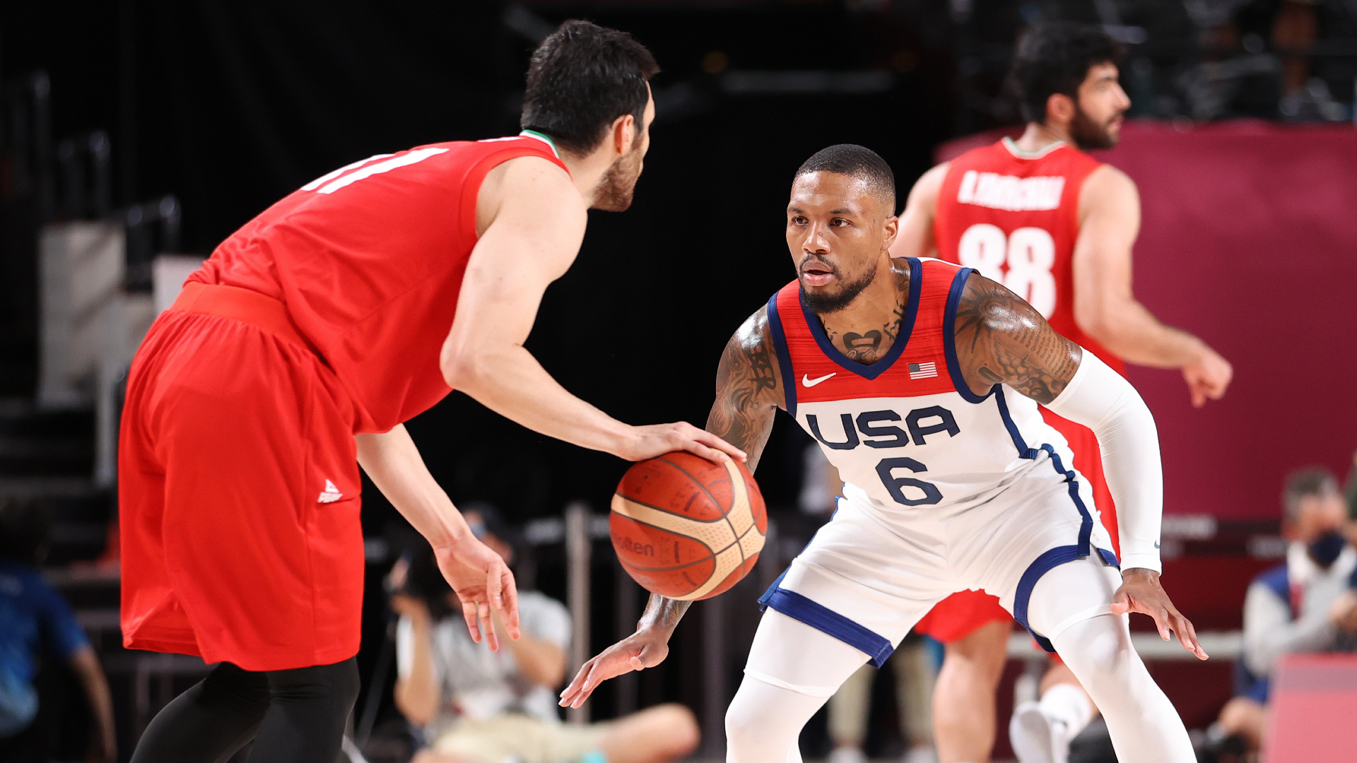 LIVE: Team USA continues Olympic play vs. Iran