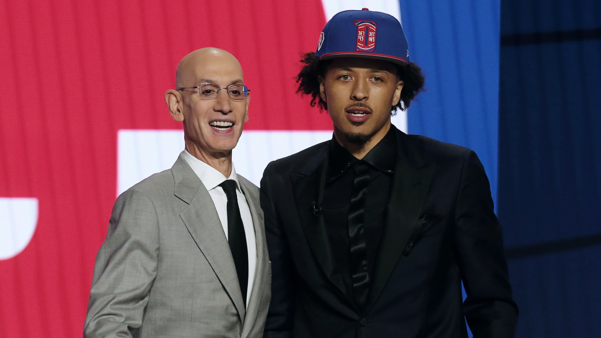 Pistons add No. 1 pick Cade Cunningham to youth movement