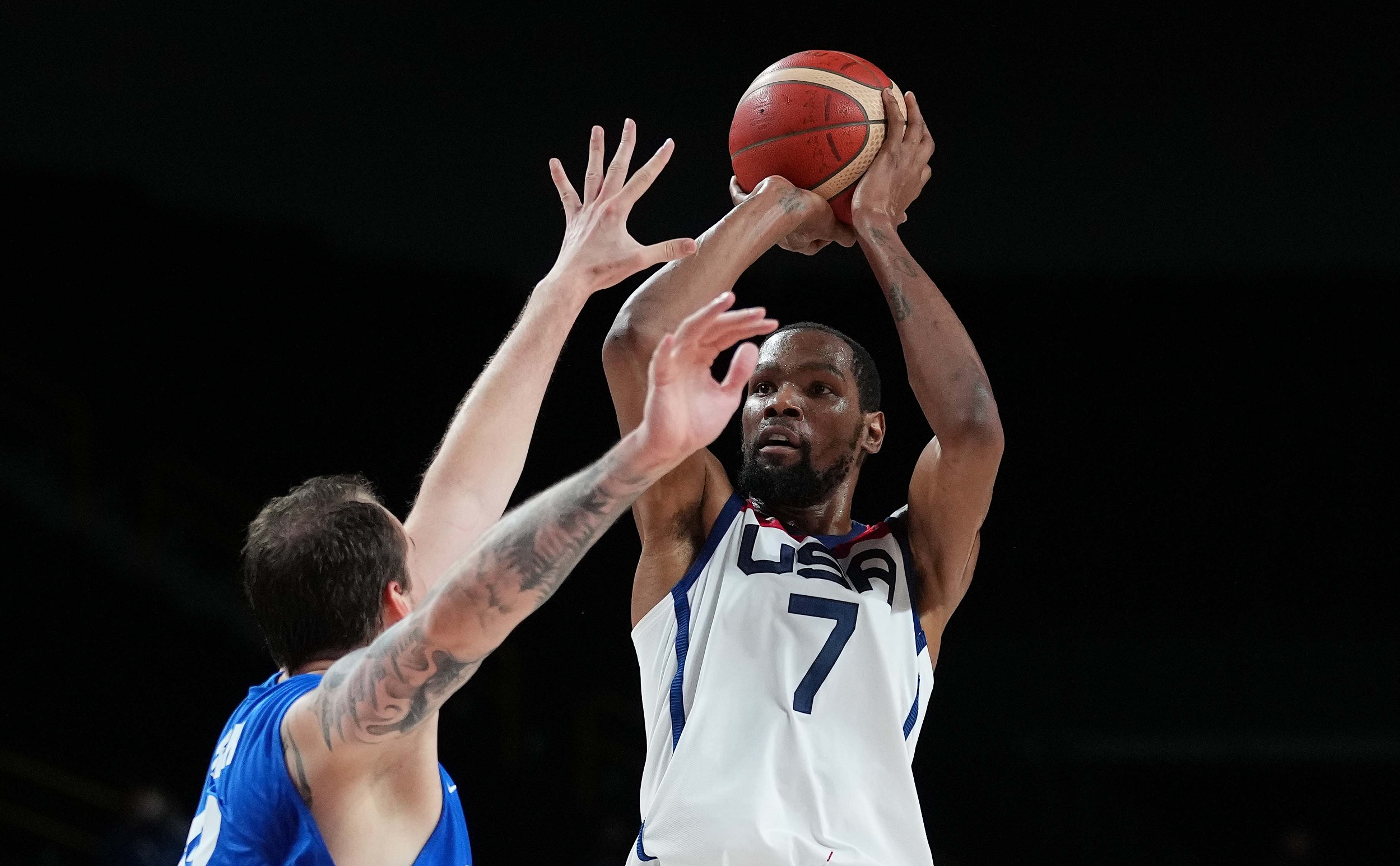 Durant sets US Olympic scoring record in rout