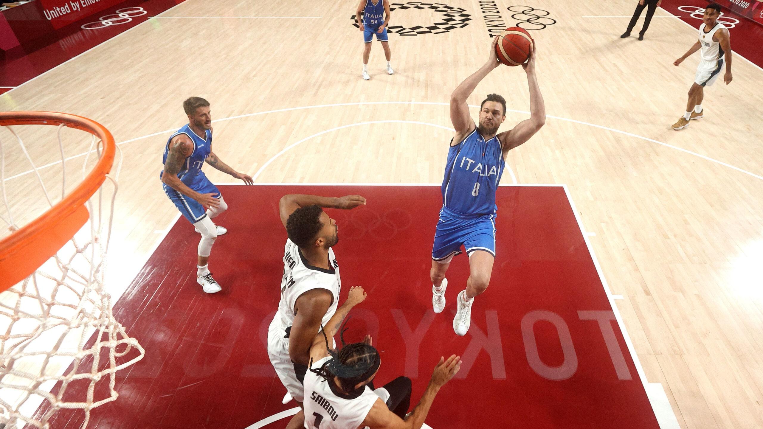 Olympic men's basketball tips off in Tokyo as Italy, Czech Republic earn wins