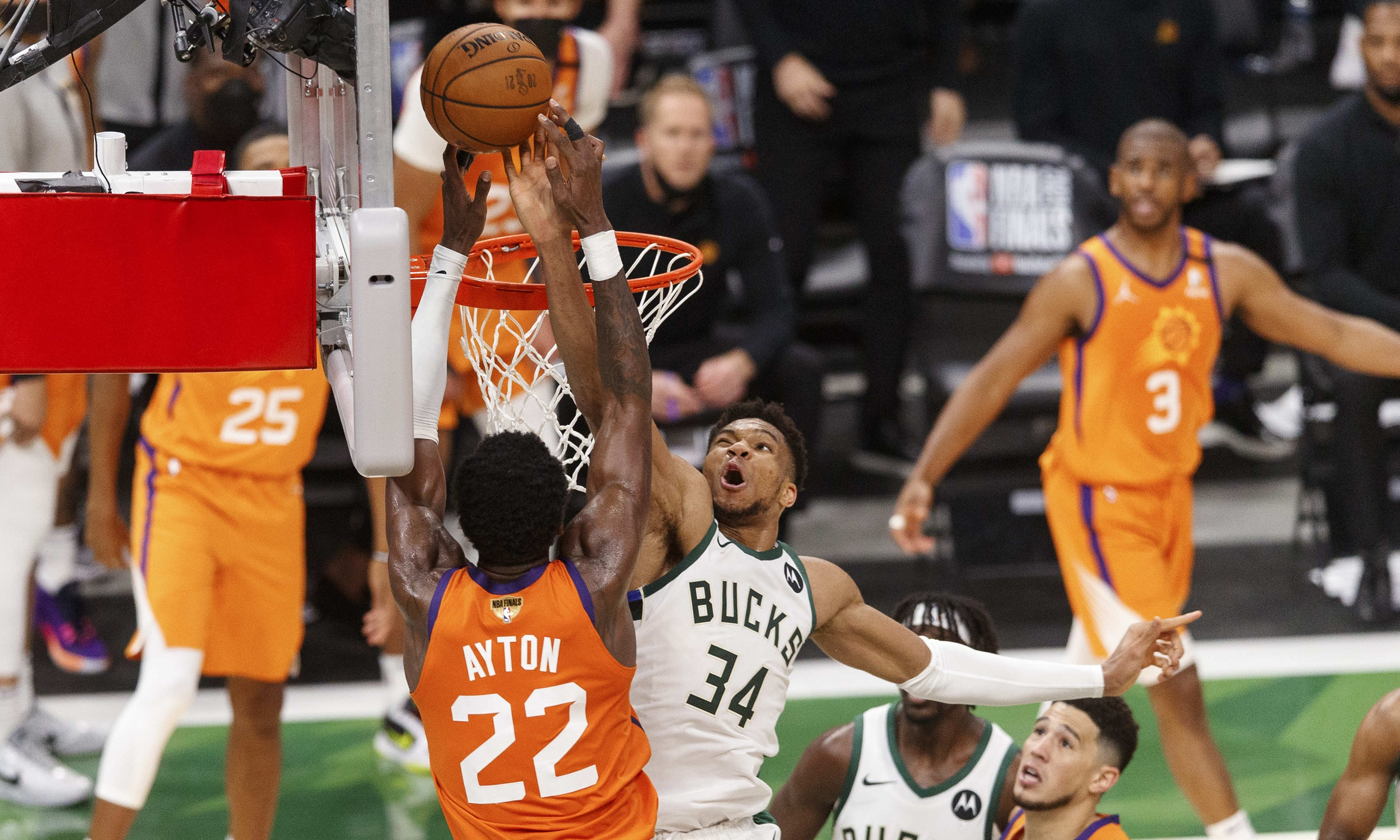 Top blocks from 2021 playoffs and Finals