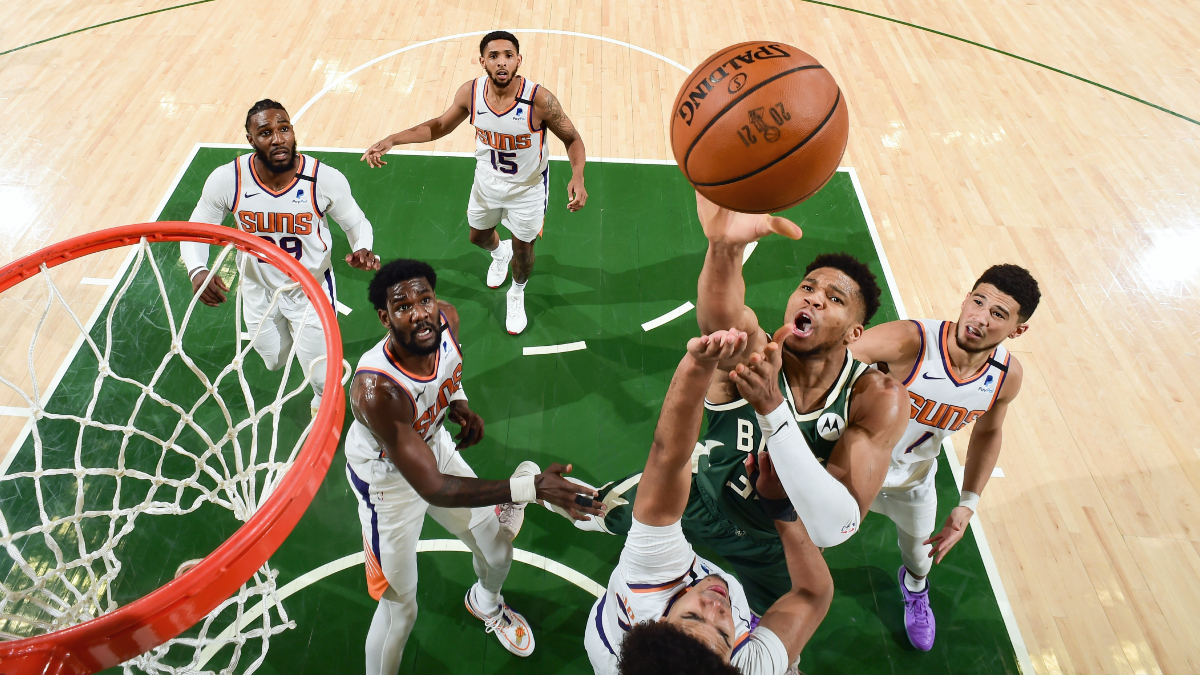 Giannis Antetokounmpo, Bucks play to their strengths and climb back in Finals