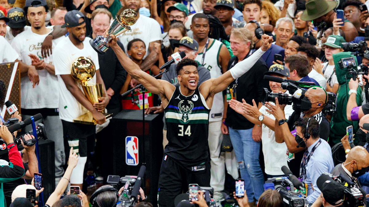 A look back on Giannis Antetokounmpo's historic NBA Finals