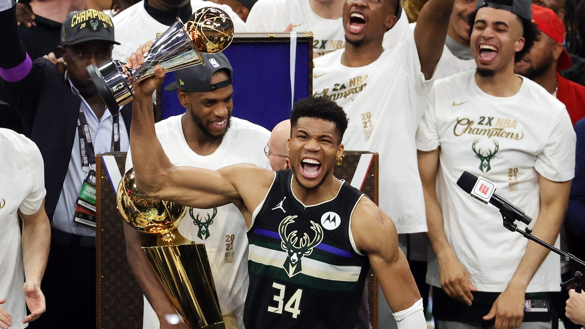 NBA Title Odds: Bucks Behind Nets & Lakers for 2022 Championship