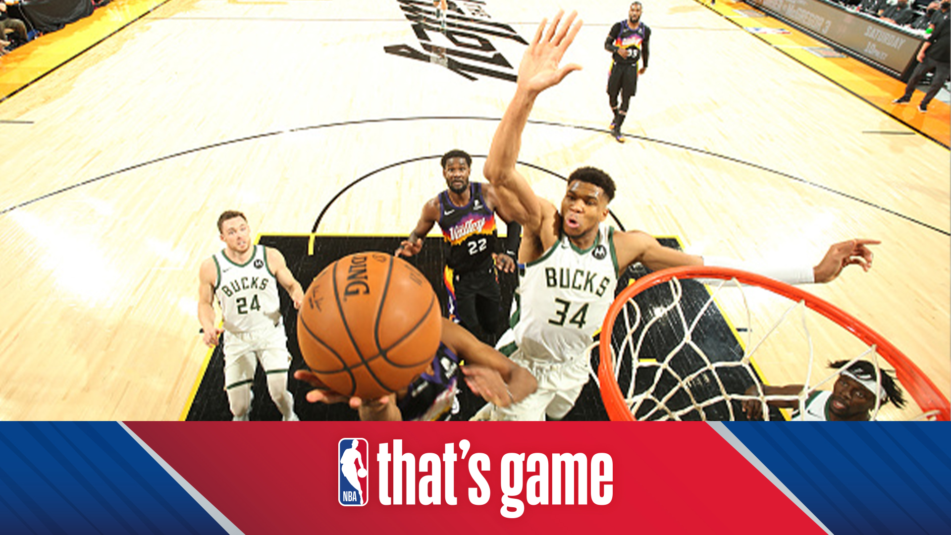 Play of the Day: Giannis incredible chasedown block