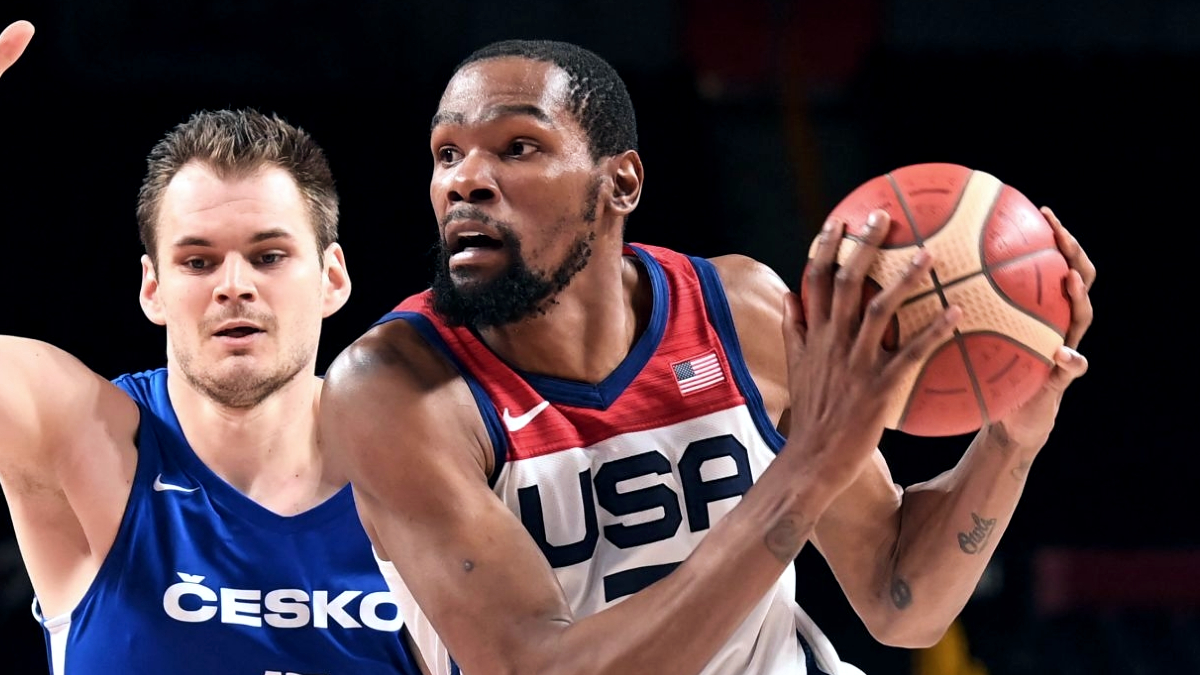 Kevin Durant surpasses Carmelo Anthony for most points in U.S. Olympic history