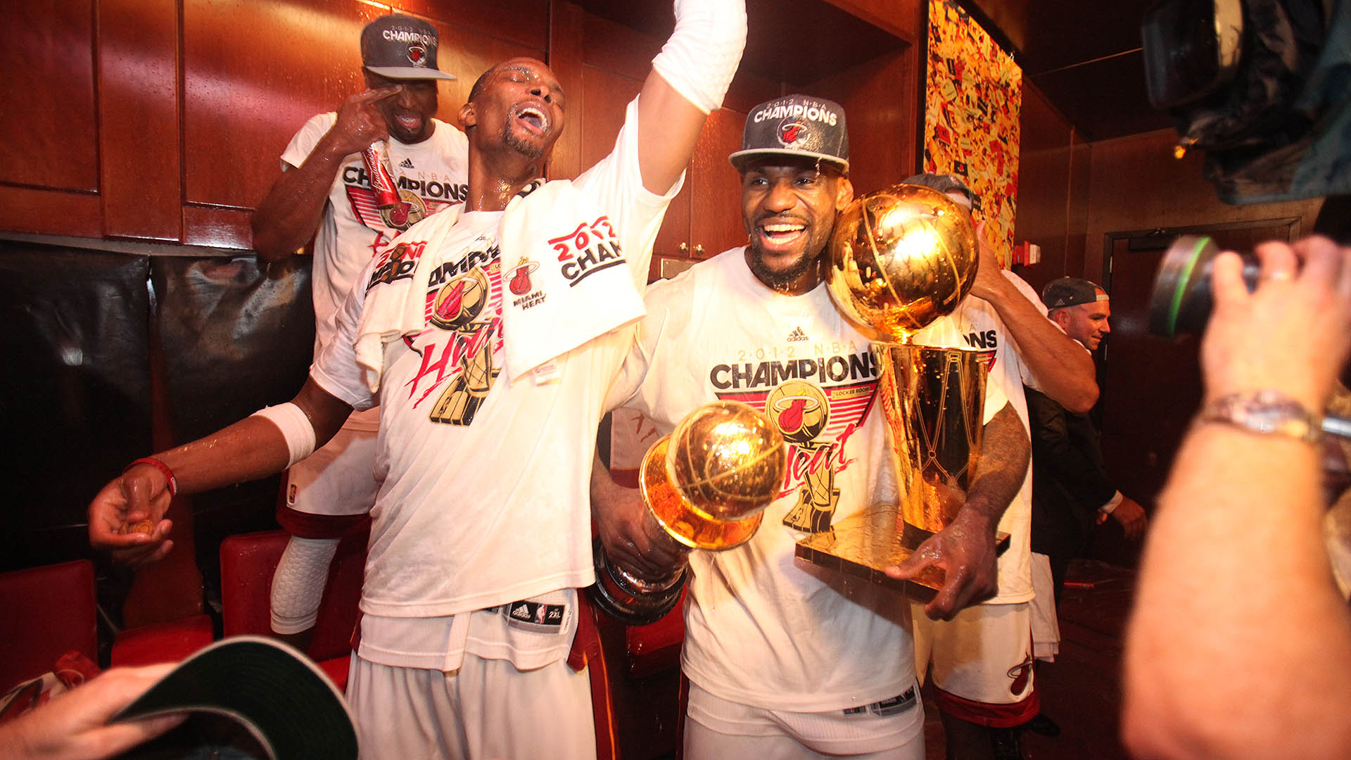 Top Moments: LeBron James wins his first championship in 2012