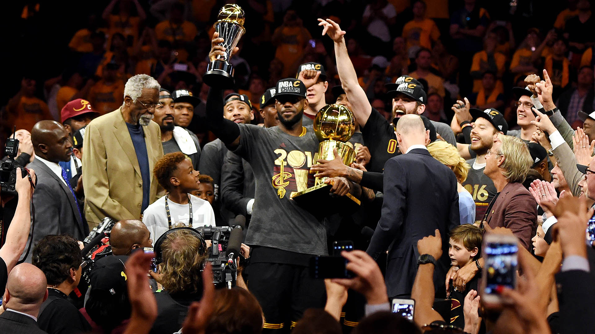Top Moments: Cavaliers end Cleveland's long championship drought