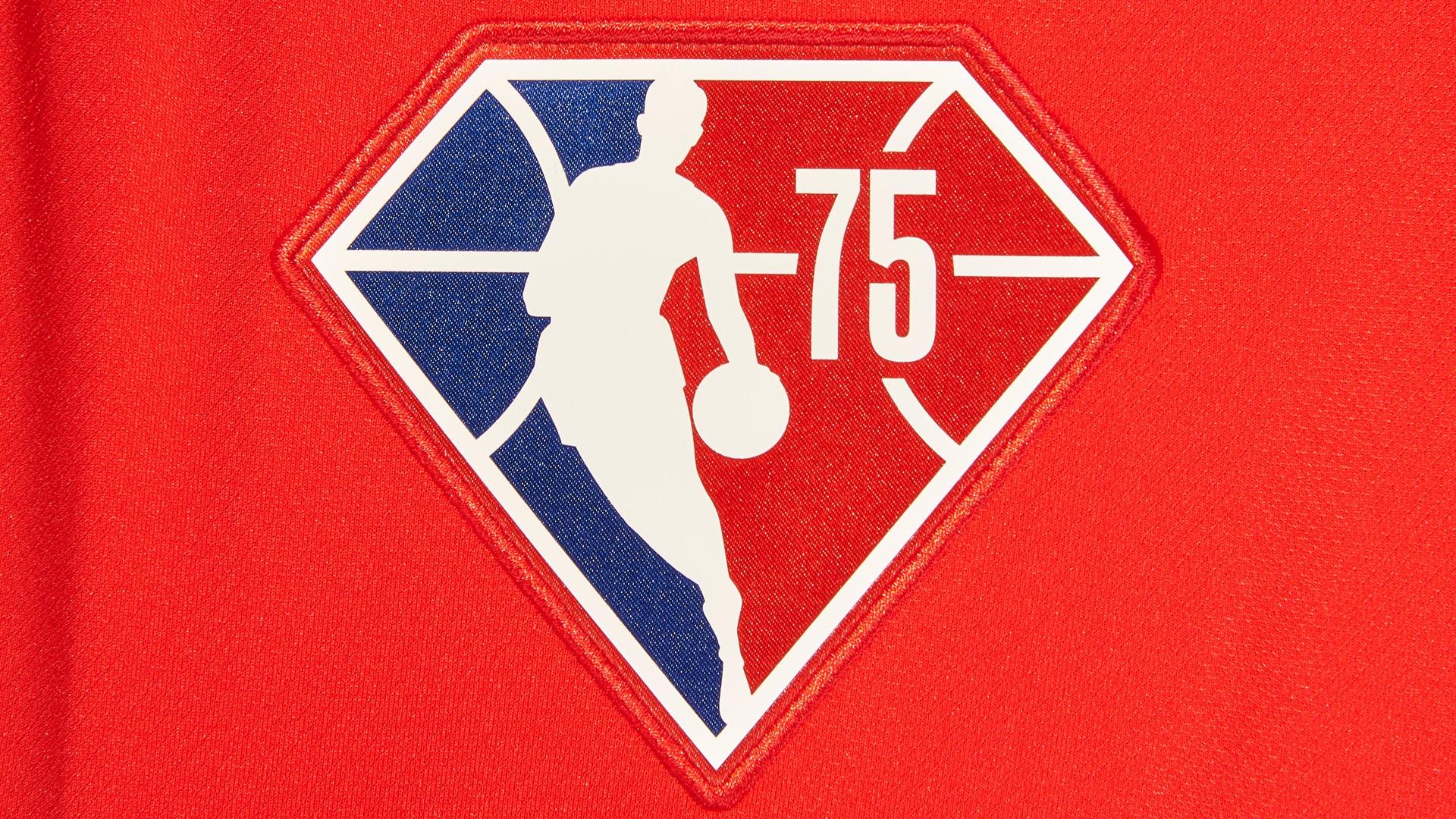 NBA unveils diamond embellishments for NBA 75 jerseys