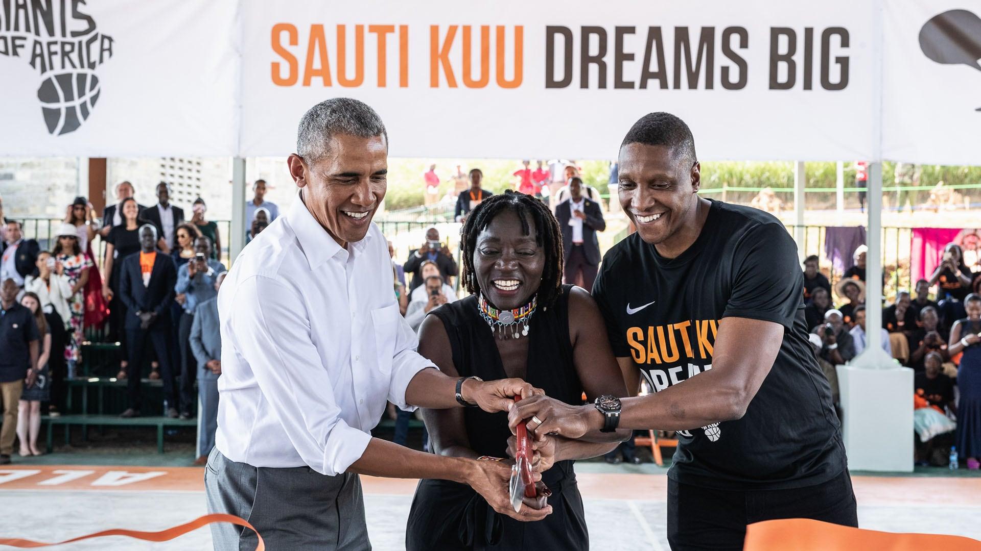 Former President Barack Obama joins NBA Africa as strategic partner