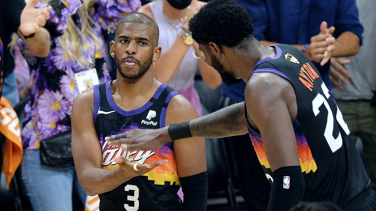 Paul leads Suns past Bucks in Finals opener
