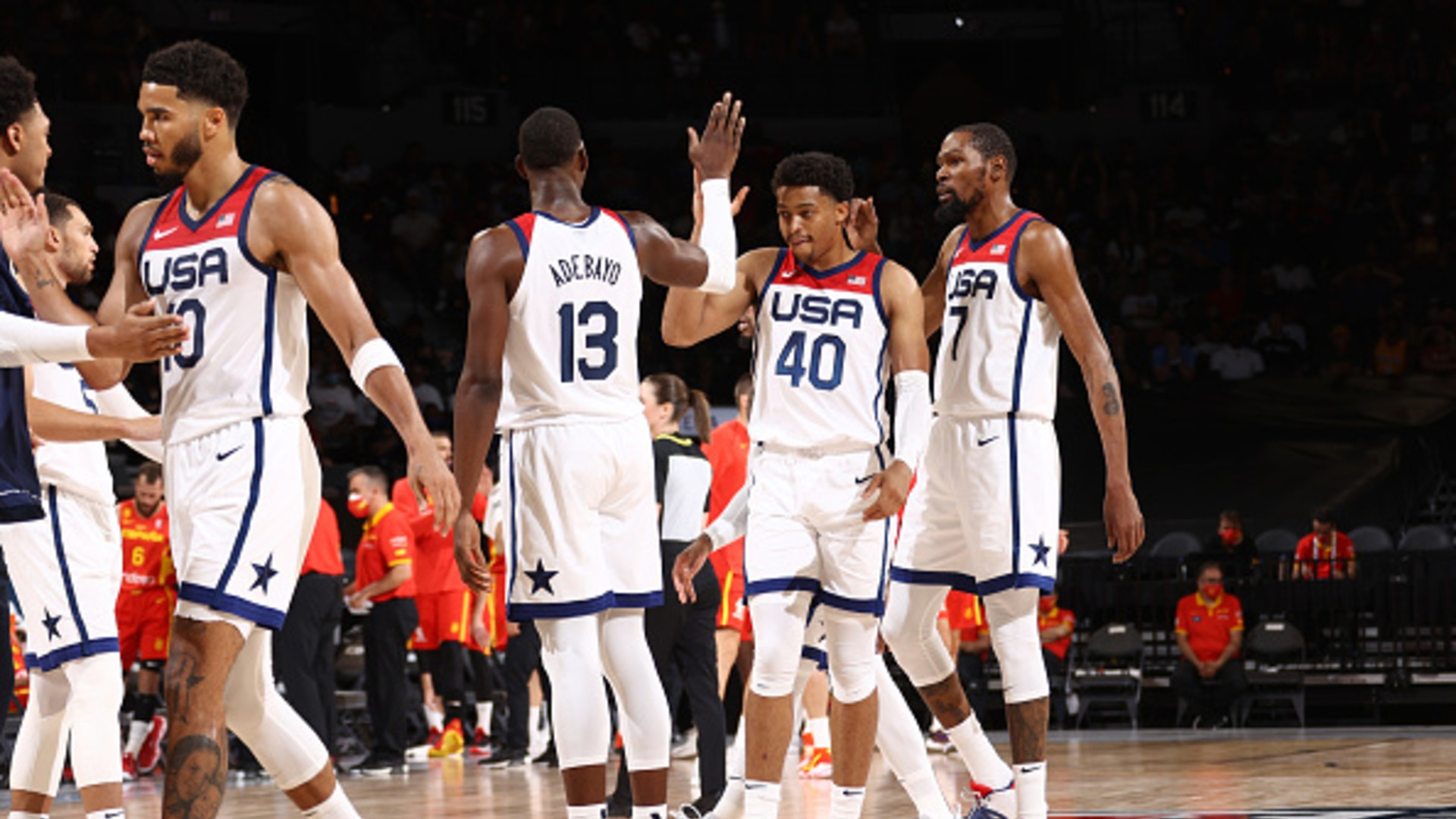 Team USA defeats Spain in final exhibition before Olympics