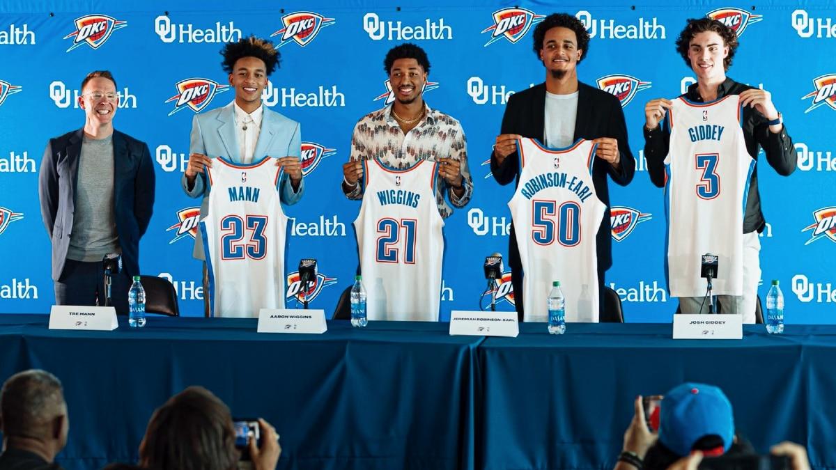 Thunder add massive Draft haul to rebuilding franchise