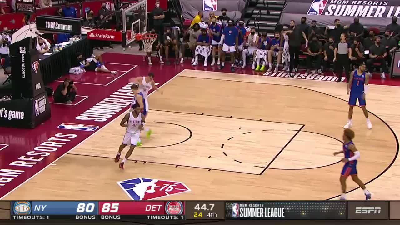 Luka Garza Posts 10 points & 12 rebounds vs. New York Knicks