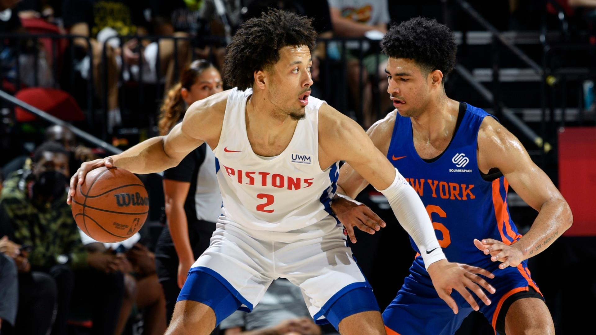 Cade Cunningham scores 24 points in win over Knicks