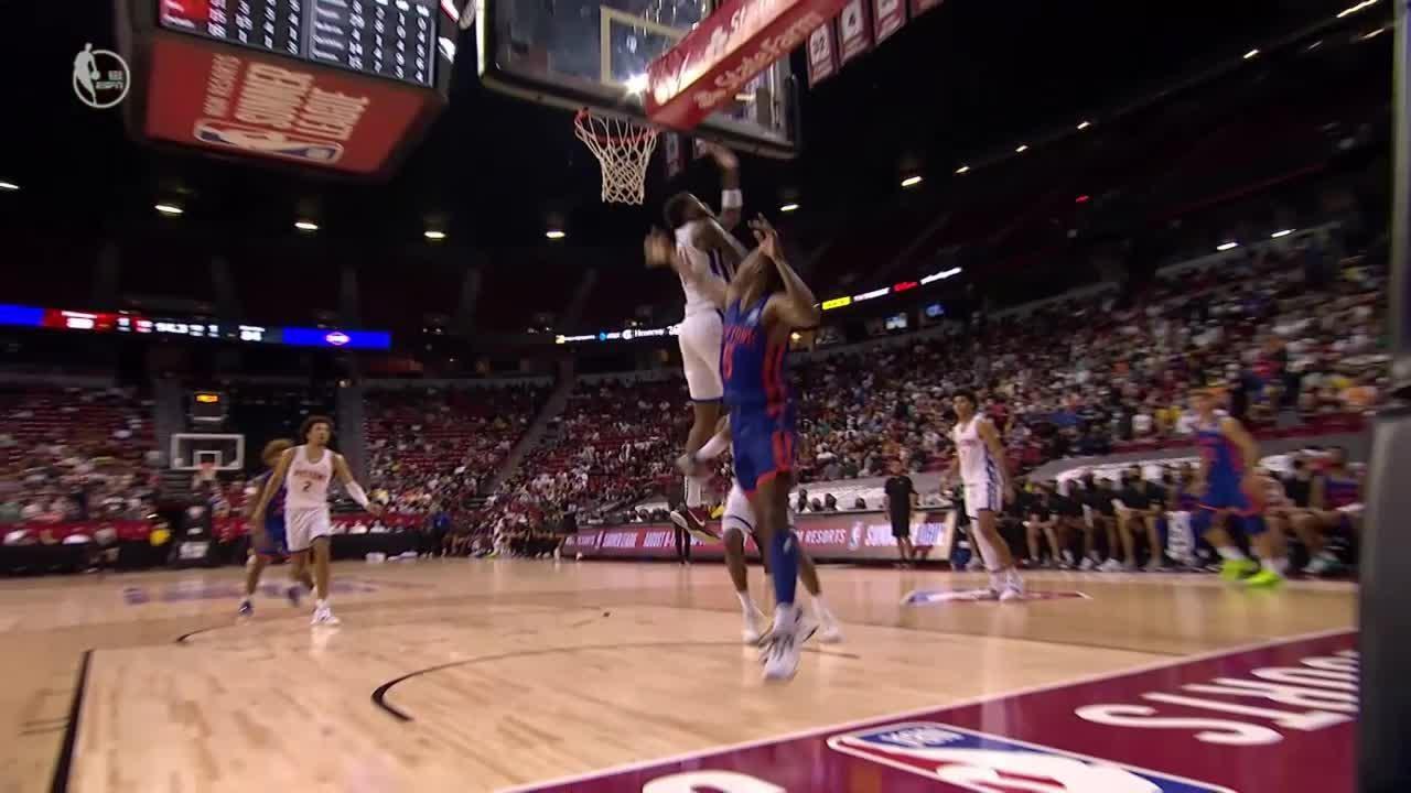 Saddiq Bey Posts 15 points & 13 rebounds vs. New York Knicks