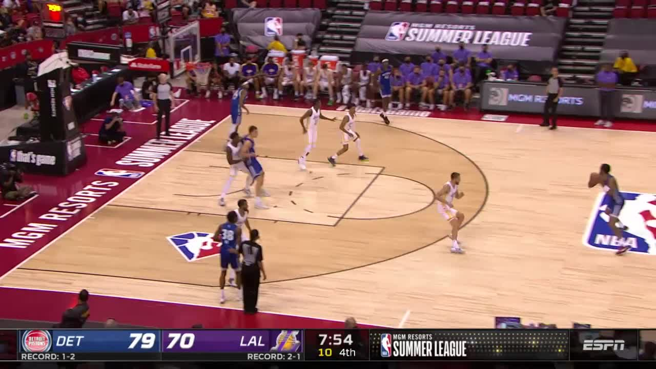 Step back 3 by Luka Garza!