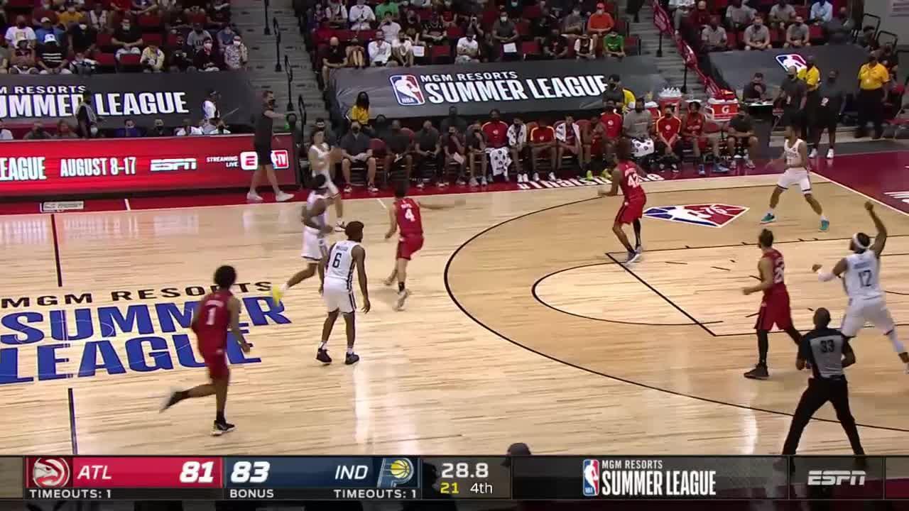 Isaiah Jackson Posts 13 points & 12 rebounds vs. Atlanta Hawks
