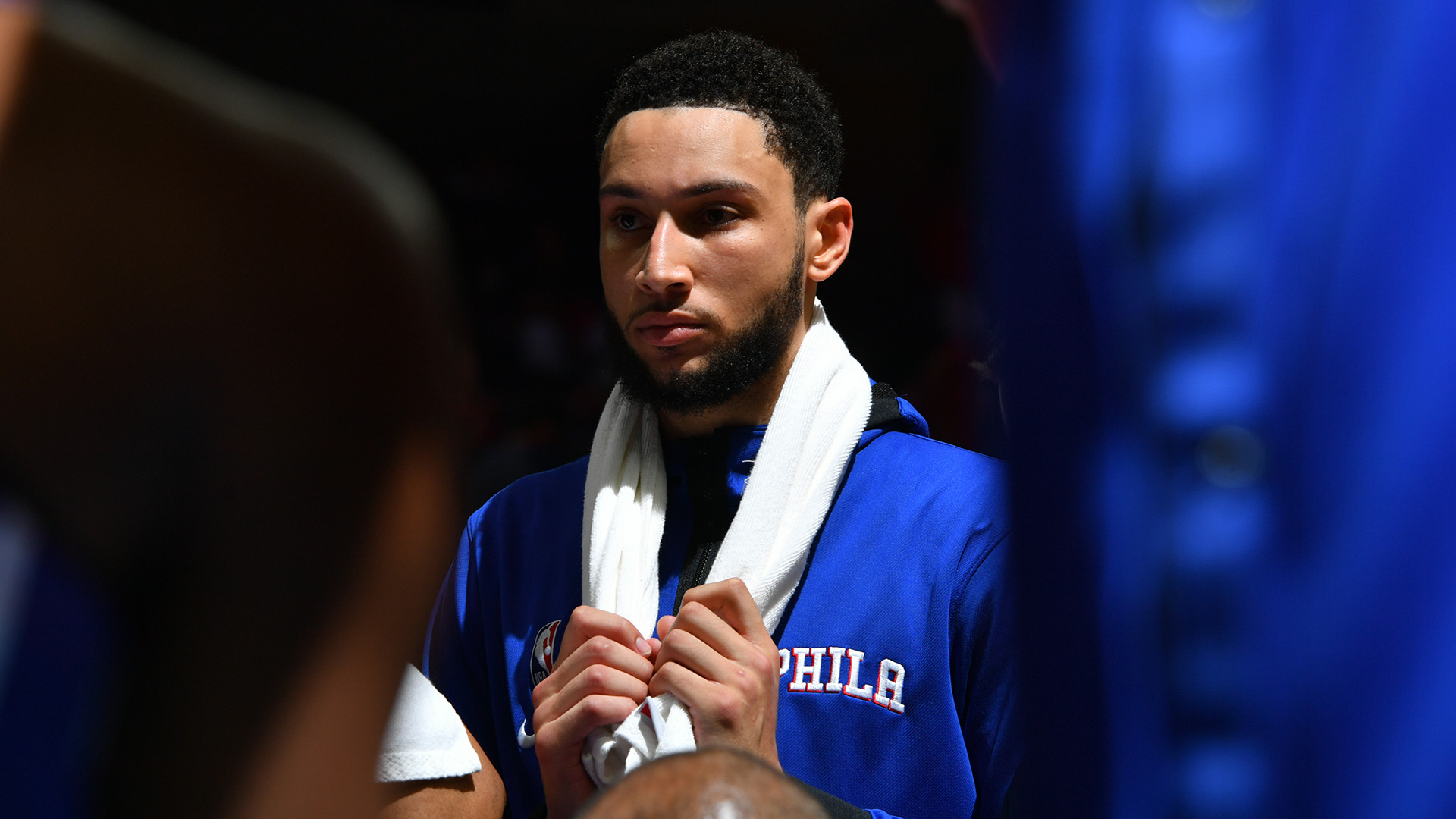 Media Day roundup: Simmons trade request confirmed; Williamson (foot surgery) out