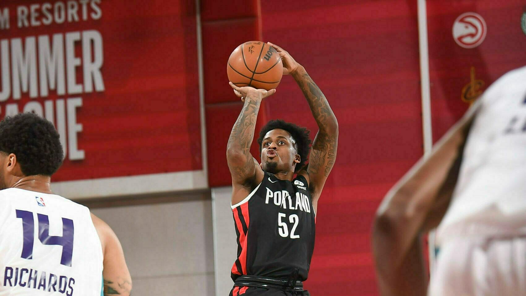 Las Vegas Summer League: Antonio Blakeney scores 27 points in Blazers' victory