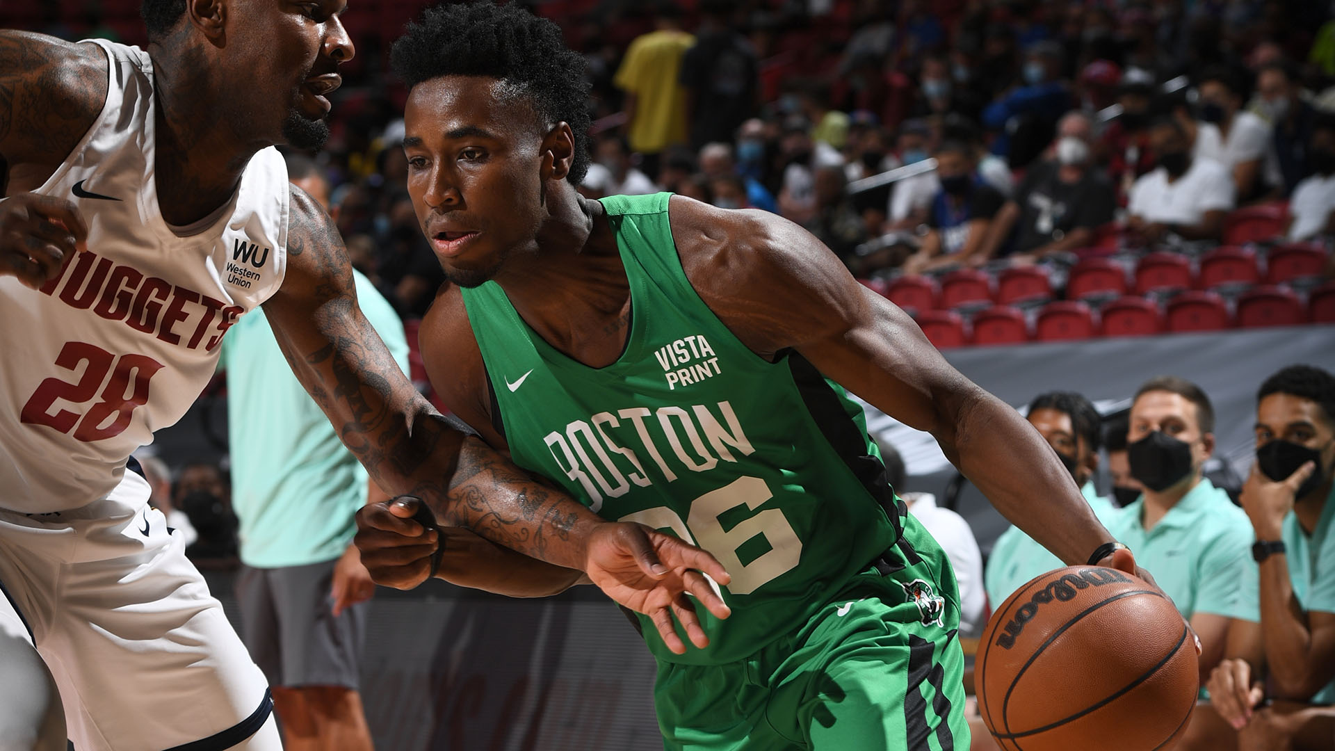 Las Vegas Summer League: Aaron Nesmith leads the way in Celtics' victory over Nuggets
