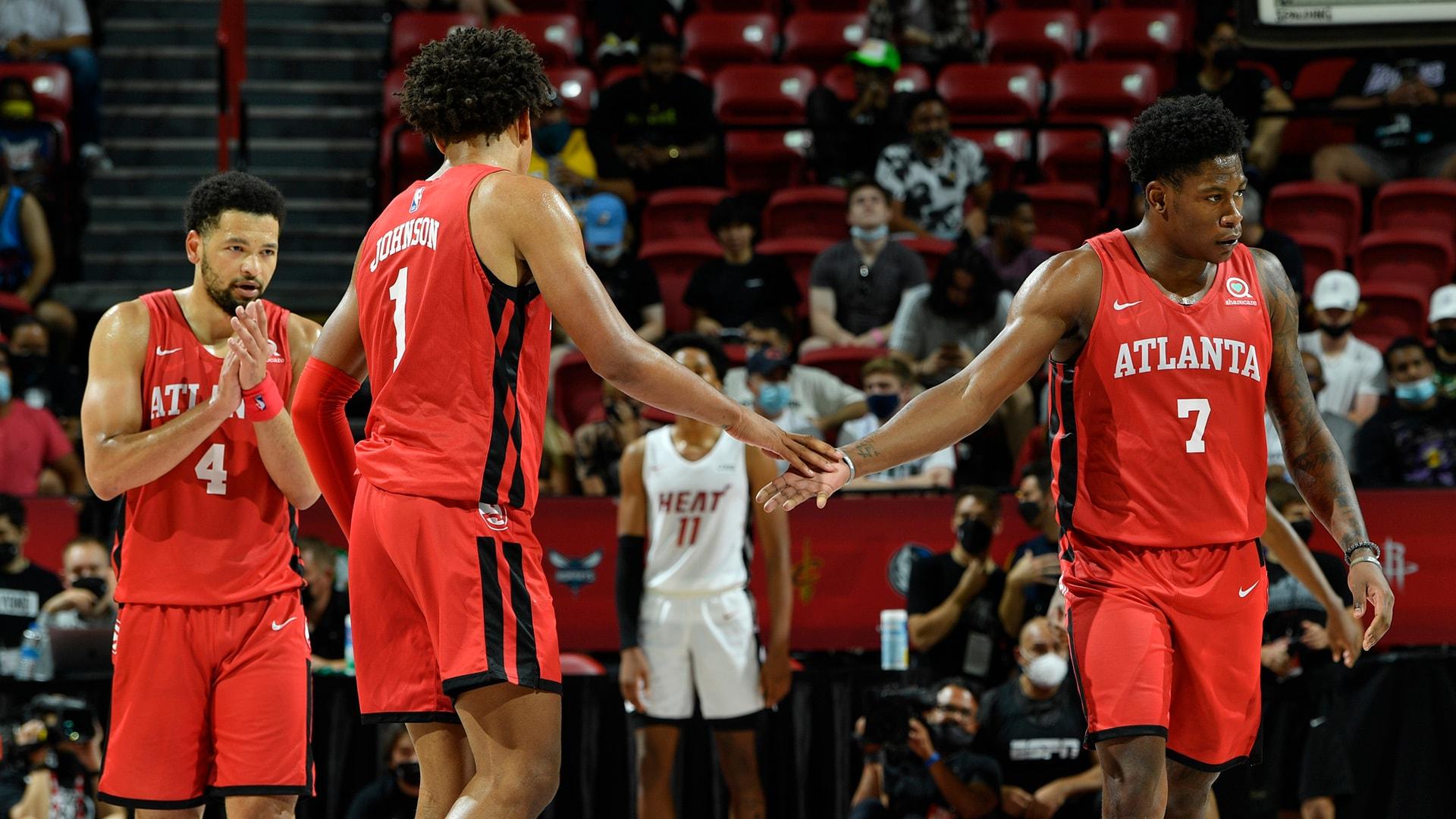 Las Vegas Summer League: Hawks secure close win over Heat