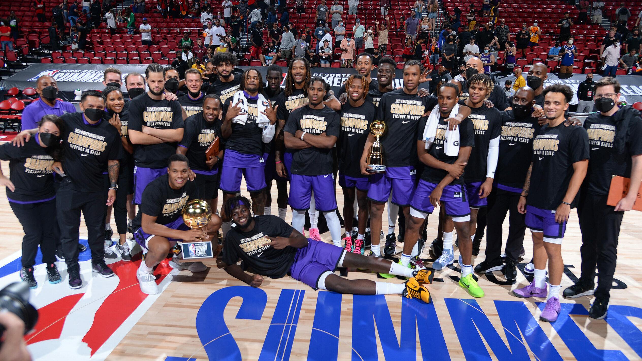 Kings hammer Celtics to claim Summer League title