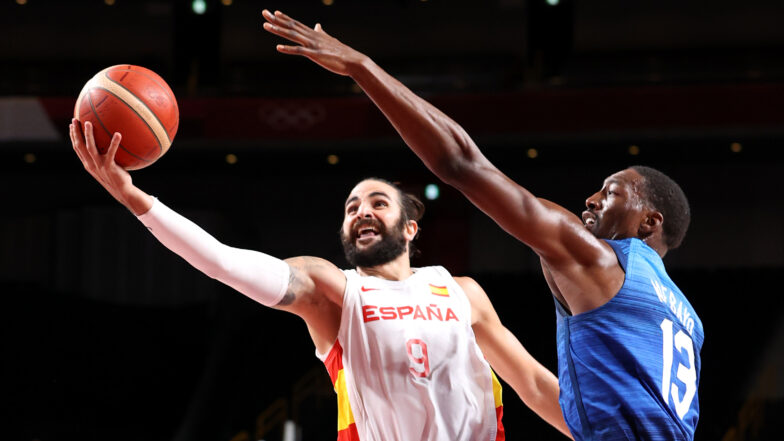 Team USA defeats Spain in Olympic quarterfinals