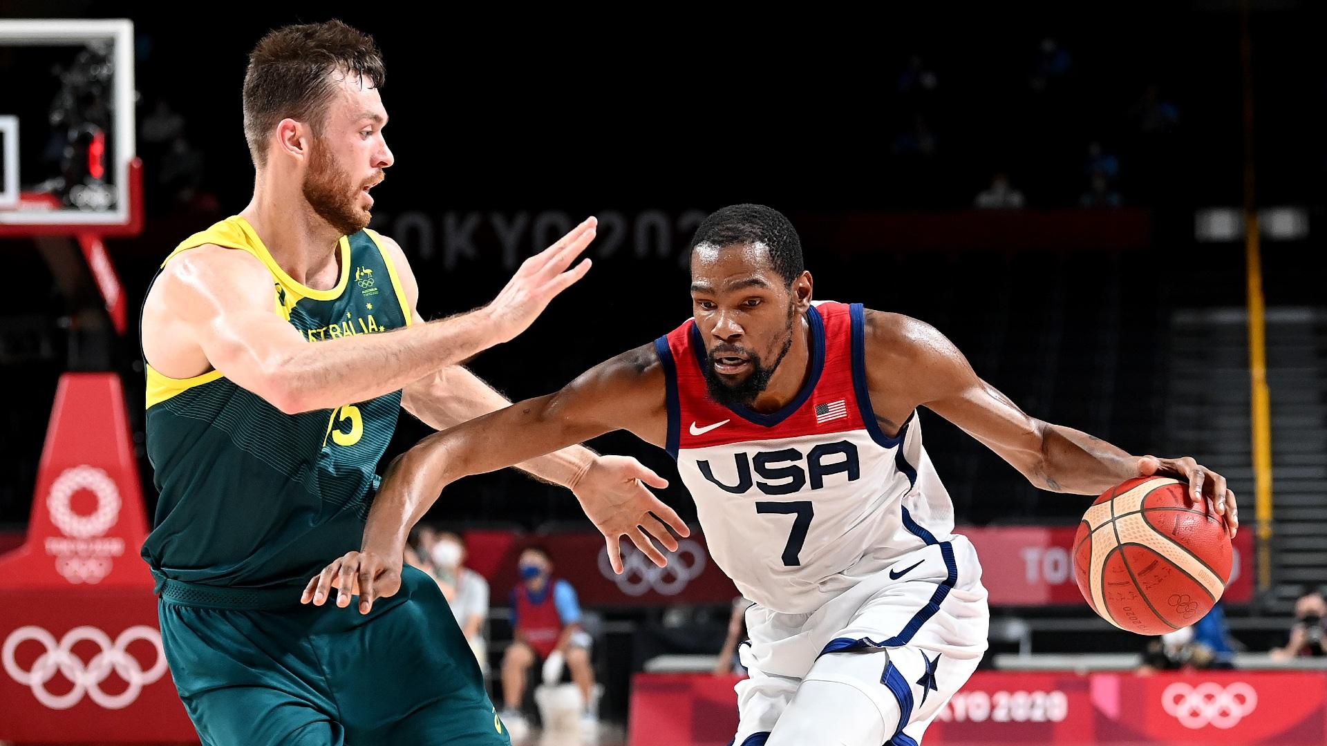 Olympic men's basketball recap: Team USA tops Australia, reaches gold medal game